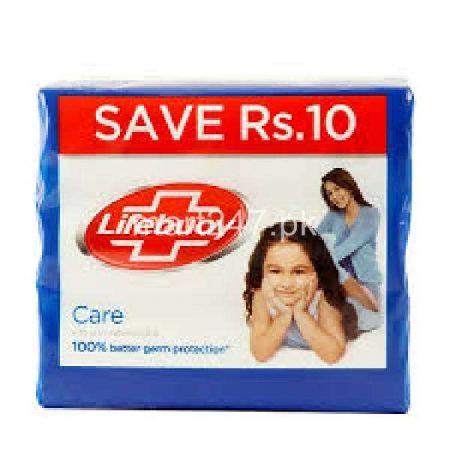 Lifebuoy Care Soap 115 G X 3