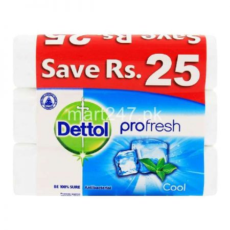 Dettol Cool Soap 85 G 3 Pack Bundle Deal