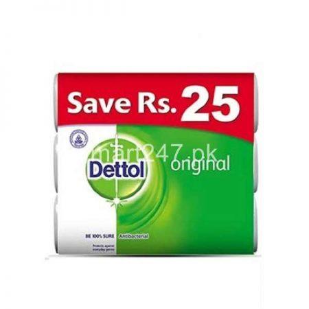 Dettol Original Soap 60 G 3 Pack Bundle Deal