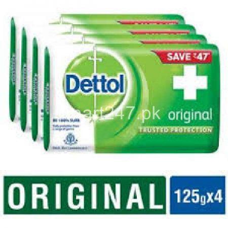 Dettol Original Soap 130 G 4 Pack Bundle Deal