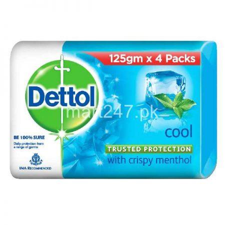 Dettol Cool Soap 130 G 4 Pack Bundle Deal