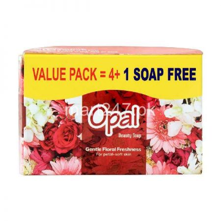 Opal Gentle Floral Freshness Bachat Pack 4 plus 1