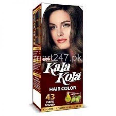 Kala Kola Hair Colour Dark Brown 43 Size Small
