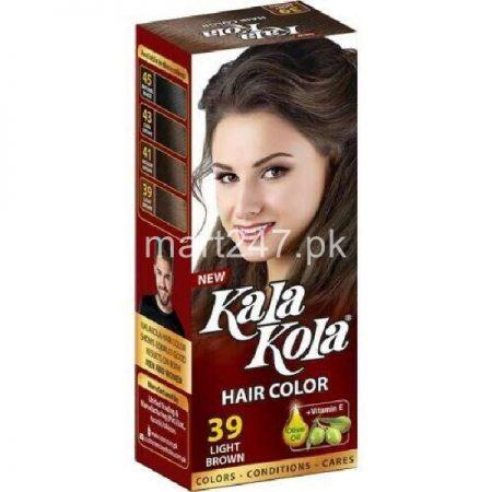 Kala Kola Hair Colour Light Brown 39 Size Small