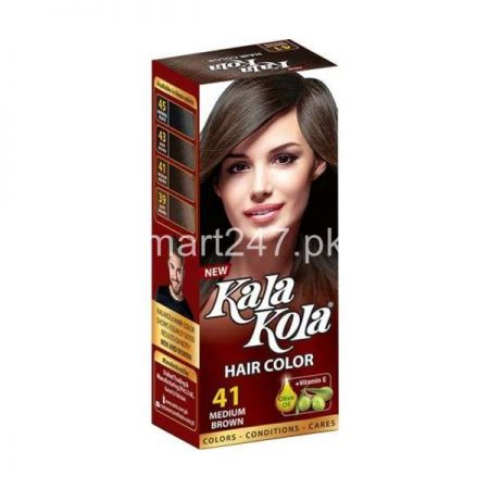Kala Kola Hair Colour Medium Brown 41 Size Large