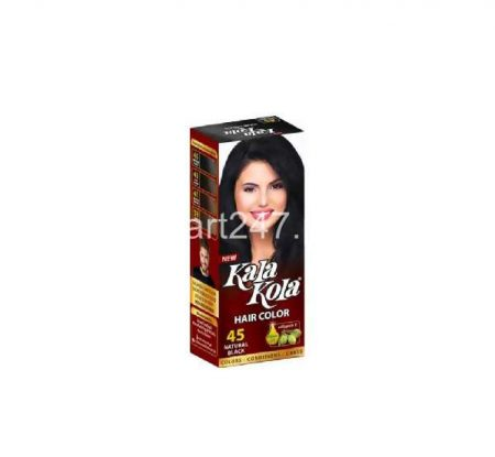 Kala Kola Hair Colour Natural Black 45 Size Large