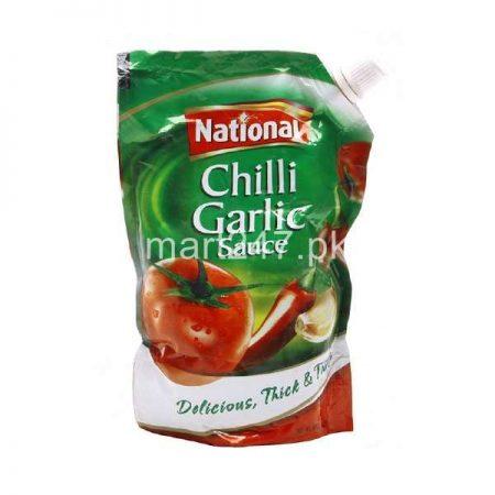 National Chilli Garlic Sauce Pouch 1 KG