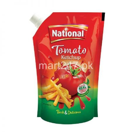 National Tomato Ketchup Pouch 250 G