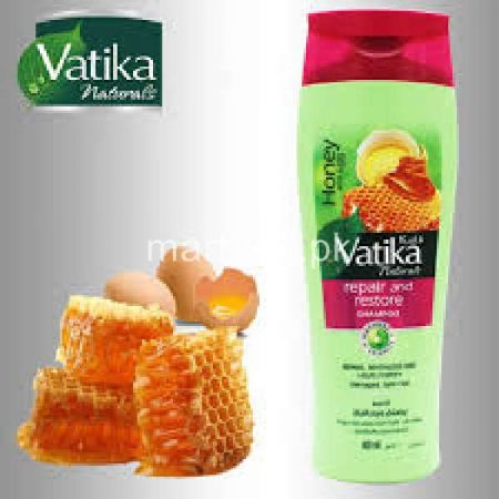 Vatika Honey And Egg Shampoo For Repair & Restore 200 ML