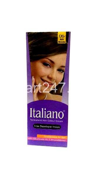 Italiano Hair Colour Ash Blonde Shade # 06