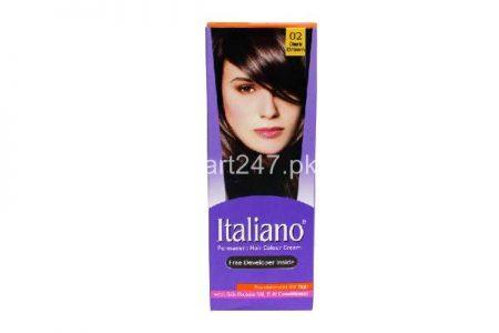 Italiano Hair Colour Dark Brown Shade # 02