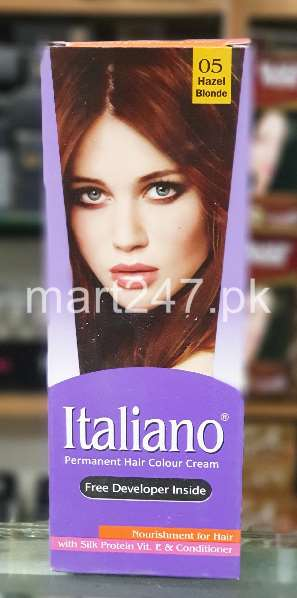 Italiano Hair Colour Hazel Blonde Shade # 05