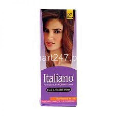 Italiano Hair Colour Mocca Shade # 07