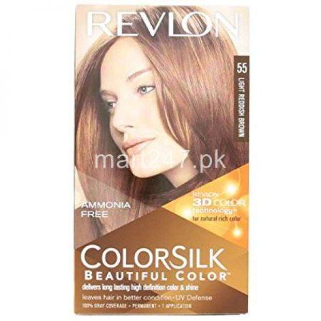 Revlon Light Reddish Brown 55