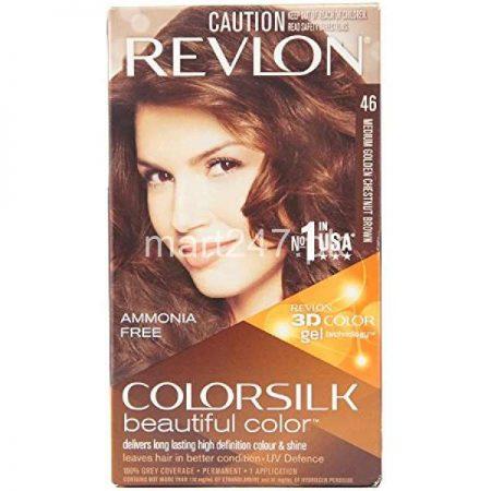 Revlon Medium Golden Chesenut Brown 46