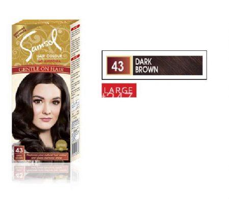 Samsol Dark Brown/43 Large