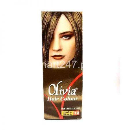 Olivia Hair Color Golden Blonde 12 50 ML