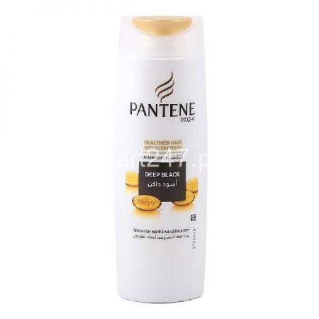 Pantene Deep Black Shampoo 185 ML