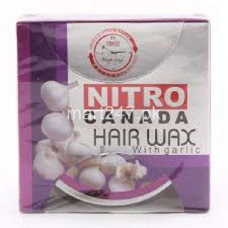 Nitro Canada Hair Wax with garlic