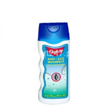 English Anti Lice Shampoo Medium