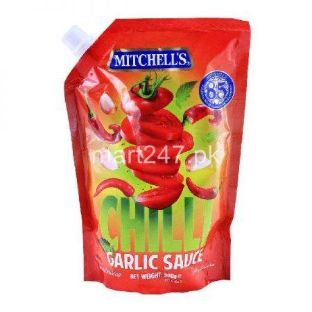 Mitchell's Chilli Garlic Pouch 500 G