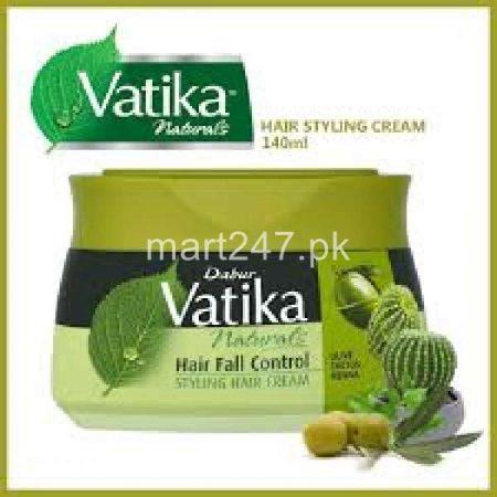 Vatika Naturals Hair Styling Cream Hair Fall Control 70 Ml