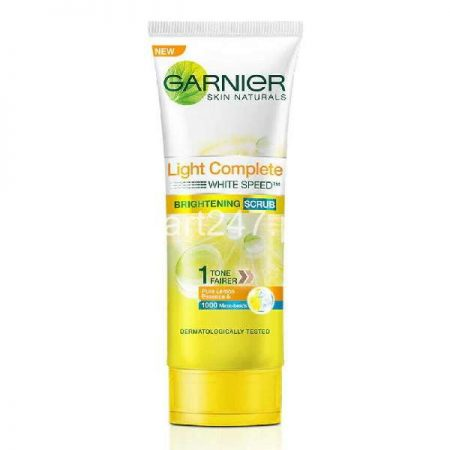 Garnier Light Gentle Exfoliating Face Scrub 100 G