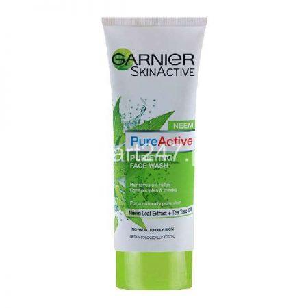 Garnier Pure Active Neem Face Wash 100 G