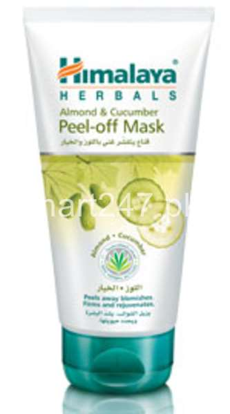 Himalaya Herbals Almond & Cucumber Peel Of Mask 75 ML
