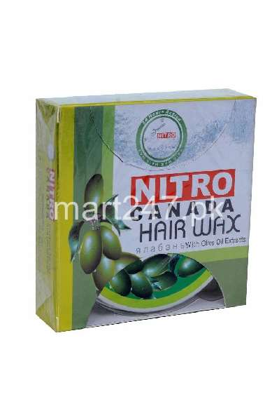 Nitro Canada Hair Wax With Olive Oil Extract