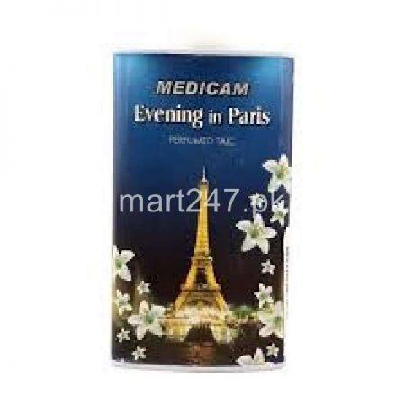 Medicam Evening In Paris Perfumed Talcum Powder (Large) 150+ G
