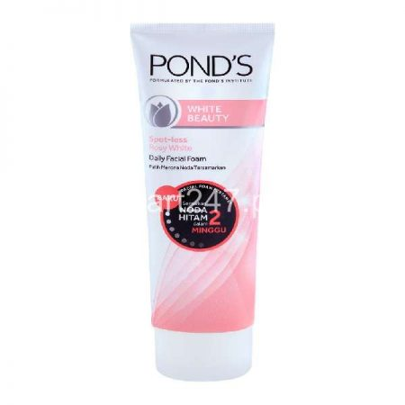 Ponds white Beauty Spotless Rosy White Daily Facial Foam 100G