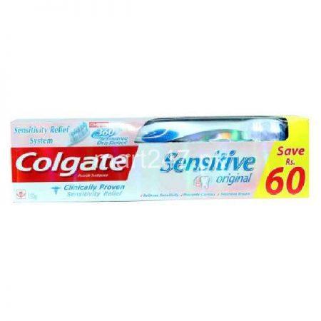 Colgate Sensitive Original Toothpaste With Brush 150 G