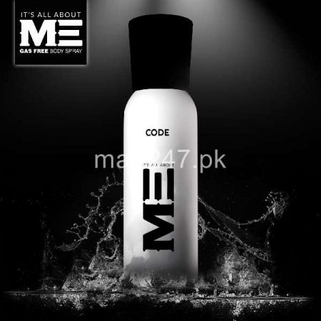 Me Code Body Spray 120 ml