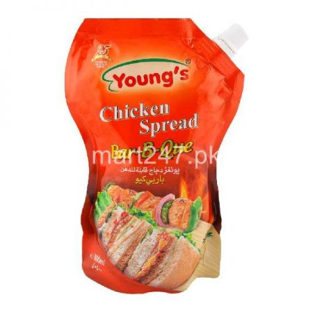 Youngs Chicken Spread Bbq 500 Ml