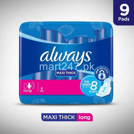 Always Maxi Thick Long 8 Pieces