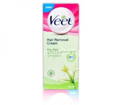 Veet Silk & Fresh Dry Skin Hair Removal Cream 100 G