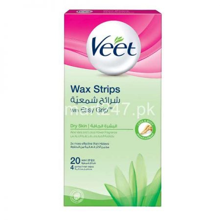 Veet Cold Wax Strips Dry
