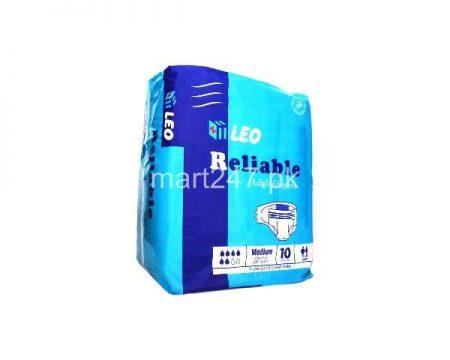 Leo Reliable Adult Diapers Size Medium (10 Pcs)