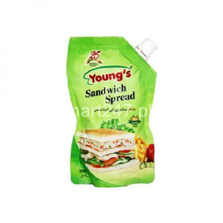 Youngs Sandwich Spread 200 Ml