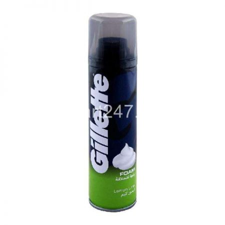 Gillette Shaving Foam 311 G Lemon Lime