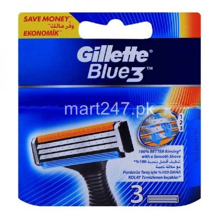 Gillette Blue3 Cartridge 3