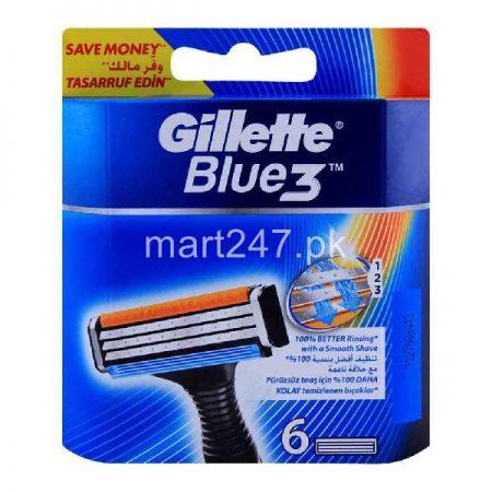 Gillette Blue3 Cartridge 6
