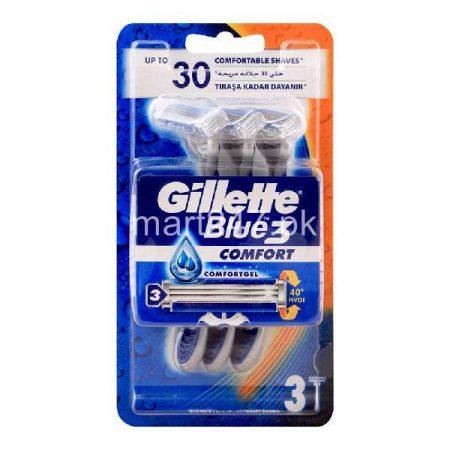 Gillette Blue 3 Blue 3 Pieces