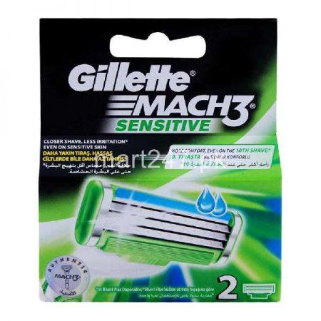 Gillette Mach 3 Sensitive 2 Cartridges