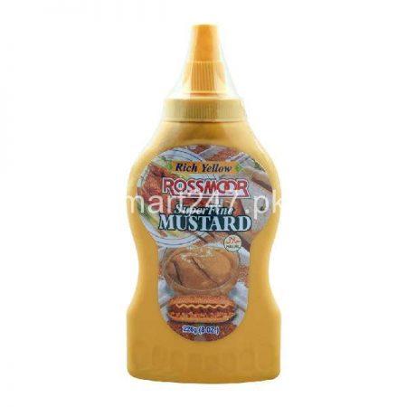 Rich Yellow Rossmoor Mustard 226 G