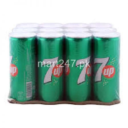 7Up Can 250 ML x 12