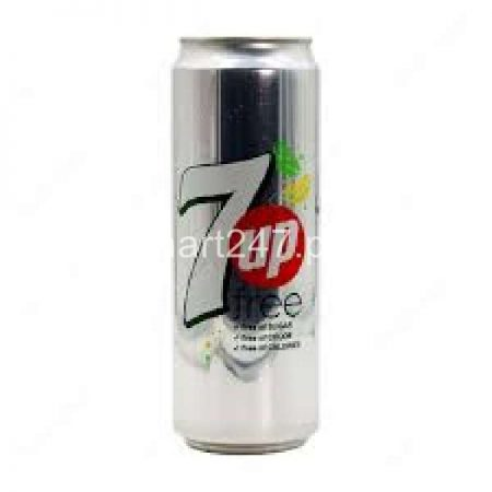 7Up Sugar Free Can 300 ML