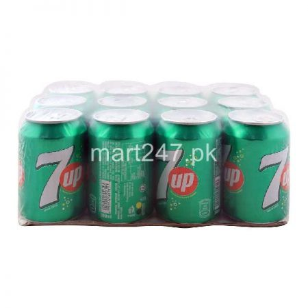 7Up Can 12 x 300 ML