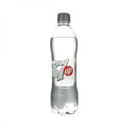 7Up Sugar Free Bottle 500 ML